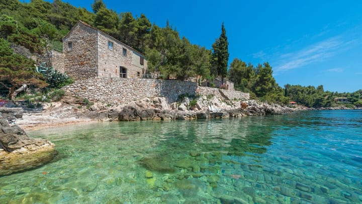Great sea view house on island Hvar