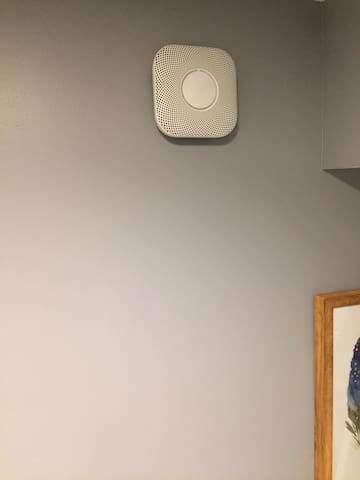 We have state-of-the-art NEST fire alarm and CO2 detectors installed for your safety.