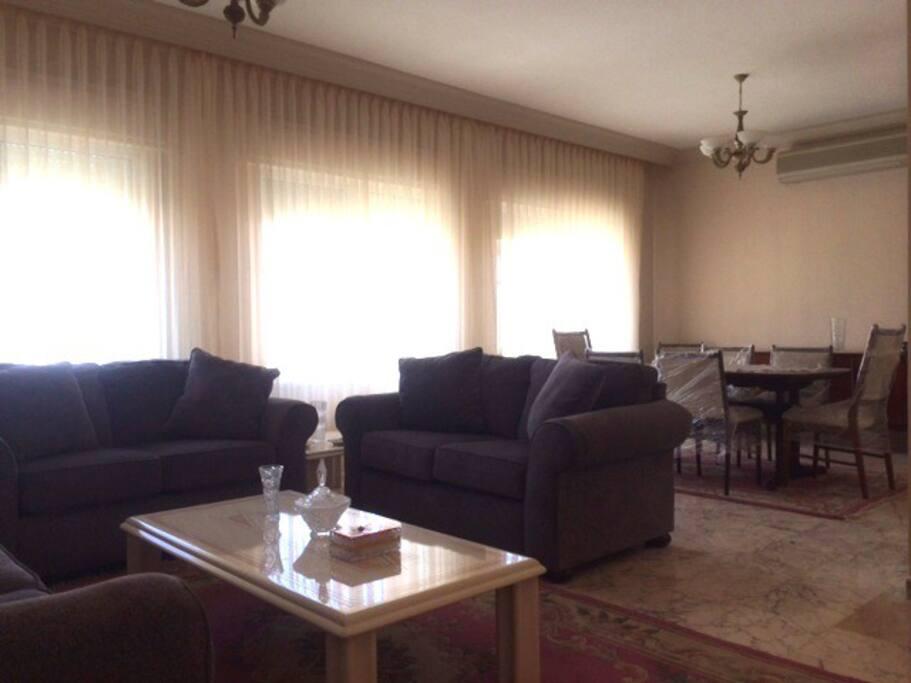 Luxury Saloon + Dining Room