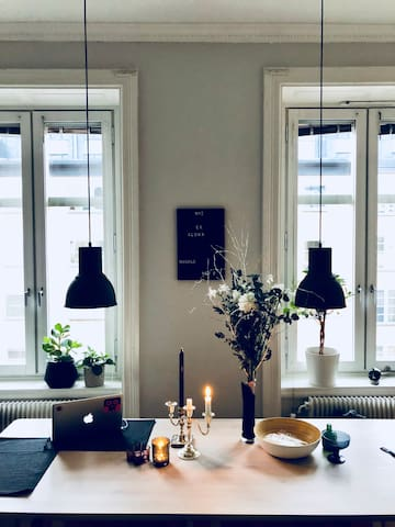 Elegant and cosy SoFo apartment near Nytorget