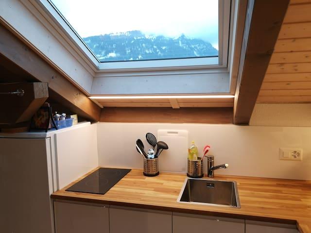 luminous cooking area