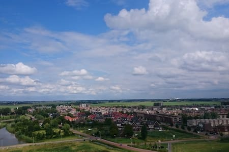 New apartment above shopping area with great views - Lakás