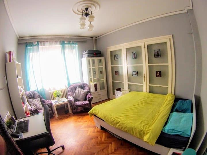 Cute room in the centre of Sofia