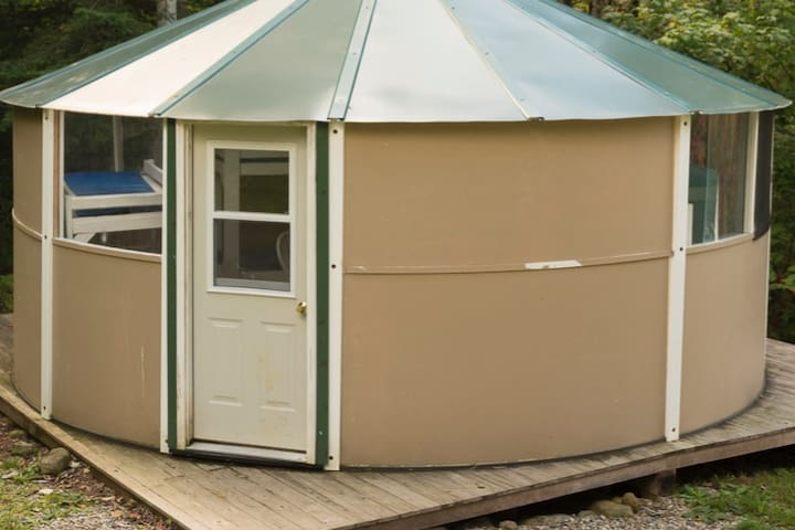 Bunkhouse Yurt on the Kennebec and West Forks
