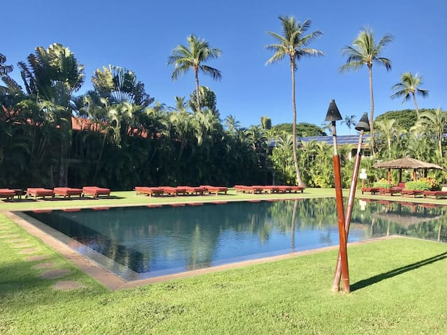 Garden view, Cottage, Pool, Quaint & cozy, One mile to beach, Aina Nalu B106