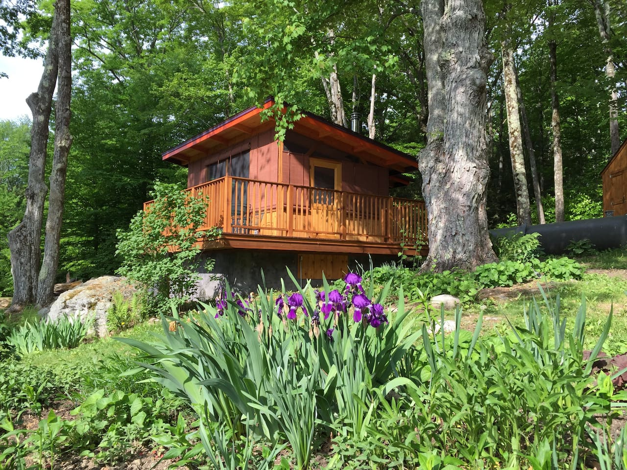 """The Aery's """"fancy camping"""" beauty surrounds you."""