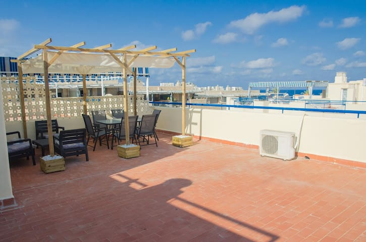 Penthouse with roof terrace - Garrucha - Pis