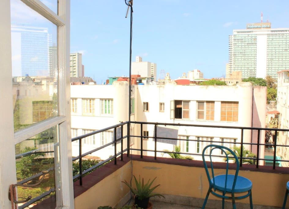 Apartment's balcony