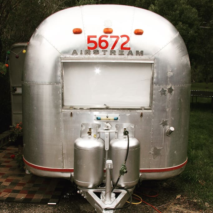 Your 1968 Vintage Airstream awaits!