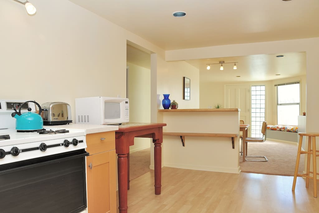 Spacious 1BD by GGpark/beach