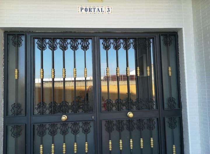 Habitación individual para una persona, Ceuta.