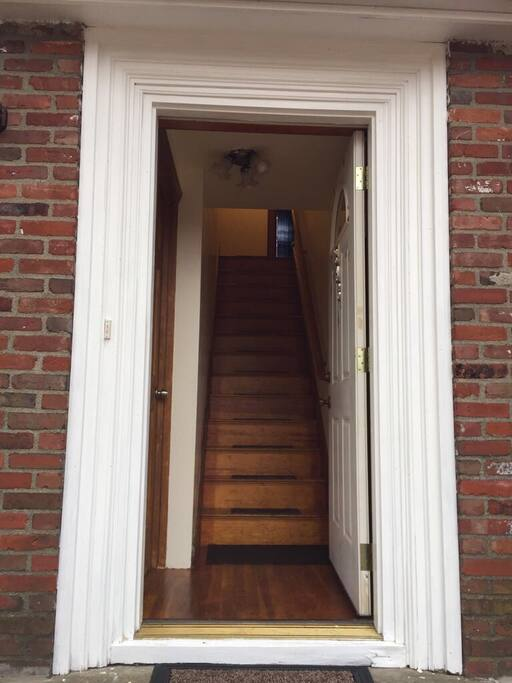 Private Front Entrance