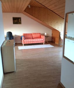 Bright and Quiet Apt in Walldorf - Walldorf - Apartament