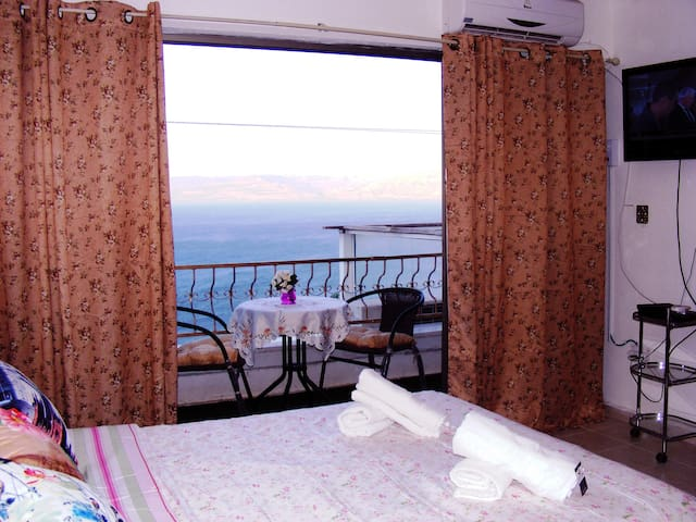 sweet house breathaking sea view - Tiberias - Apartment