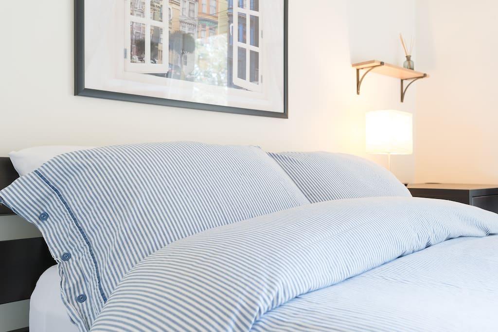 Plush comforter
