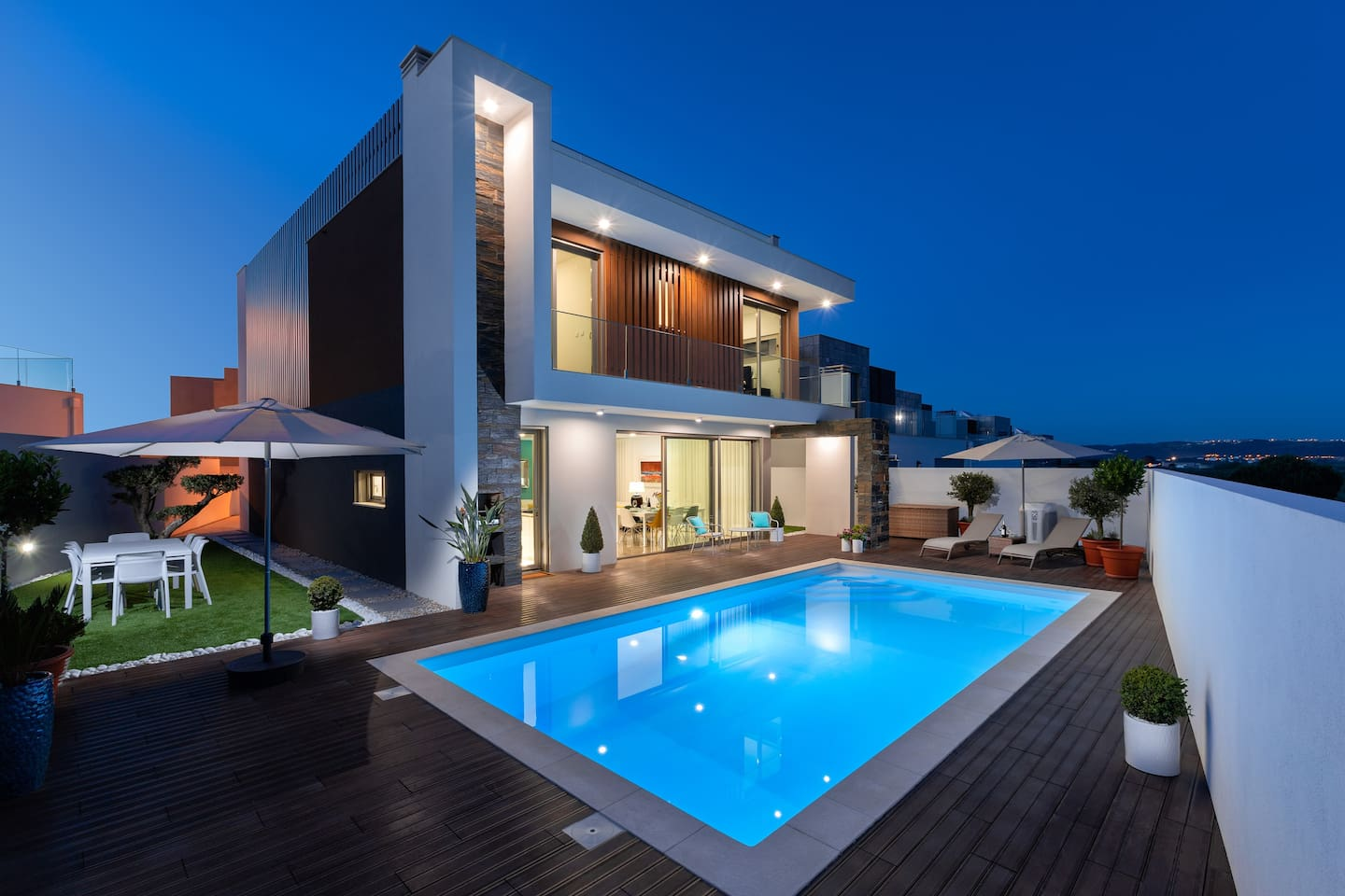 Holiday villa with private pool and terrace