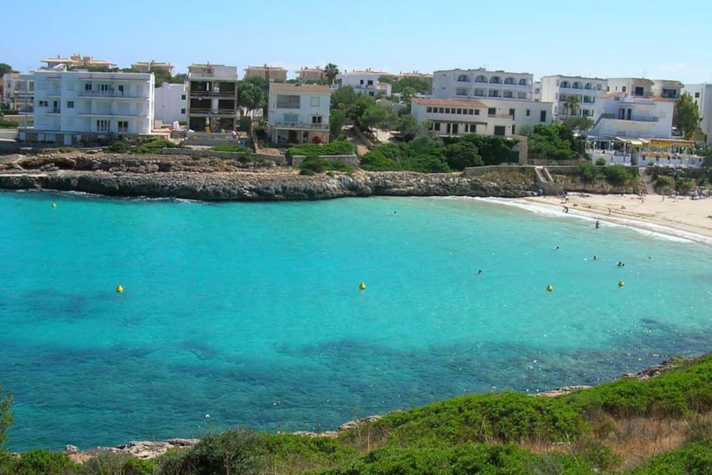 Playa Cala Marçal. 150 metros apartamento