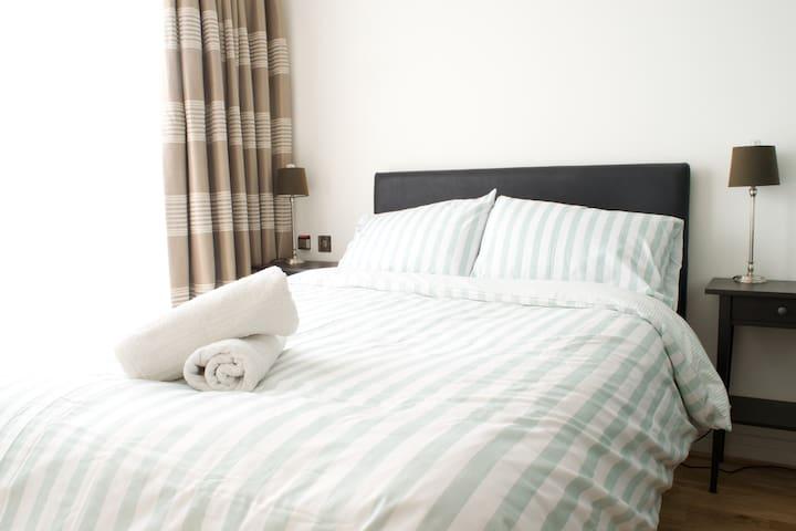 Cozy double bedroom in Dublin