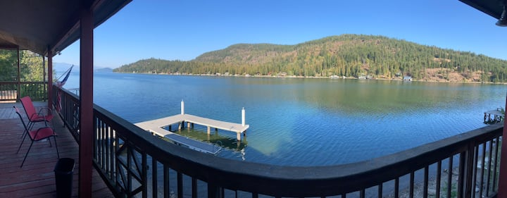 Waterfront Apt In Bottle Bay-Close to Sandpoint