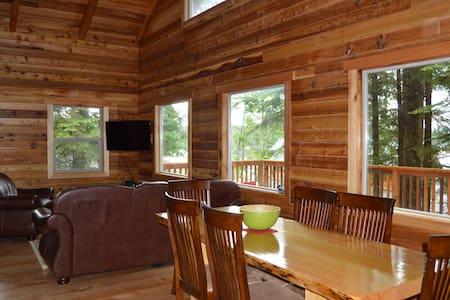 Kingfisher Cabin: Cabin, Boat, Van Package