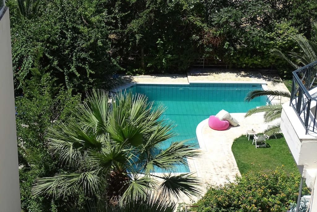 Elegant Apt With Pool Ocean View Apartments For Rent In Glifada Greece