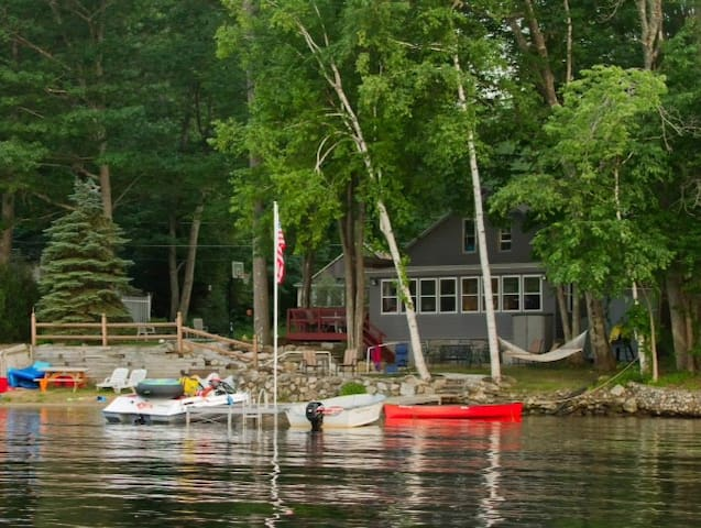 Lane's Lakehouse w Private Beach!!! - Hampstead