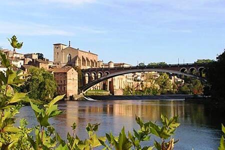 Sud de la France:soleil,vin,piscine - Brens - บ้าน
