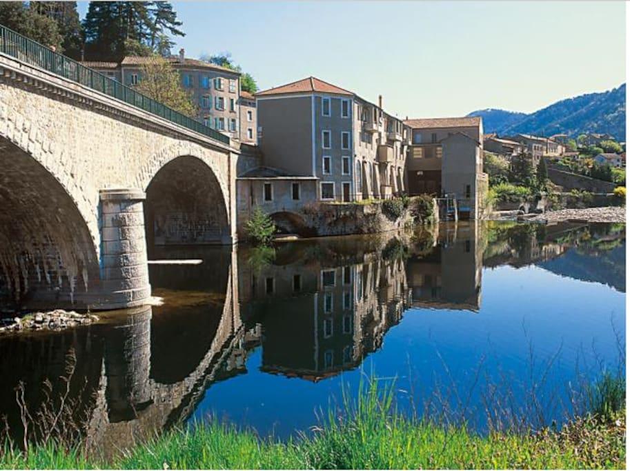 Au cœur des Monts d'Ardèche,  Les Ollières sur Eyrieux