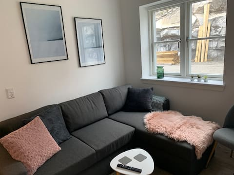 New cozy apartment in the center of Nuuk.