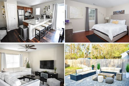 Charming Home Central to Savannah and Tybee Island