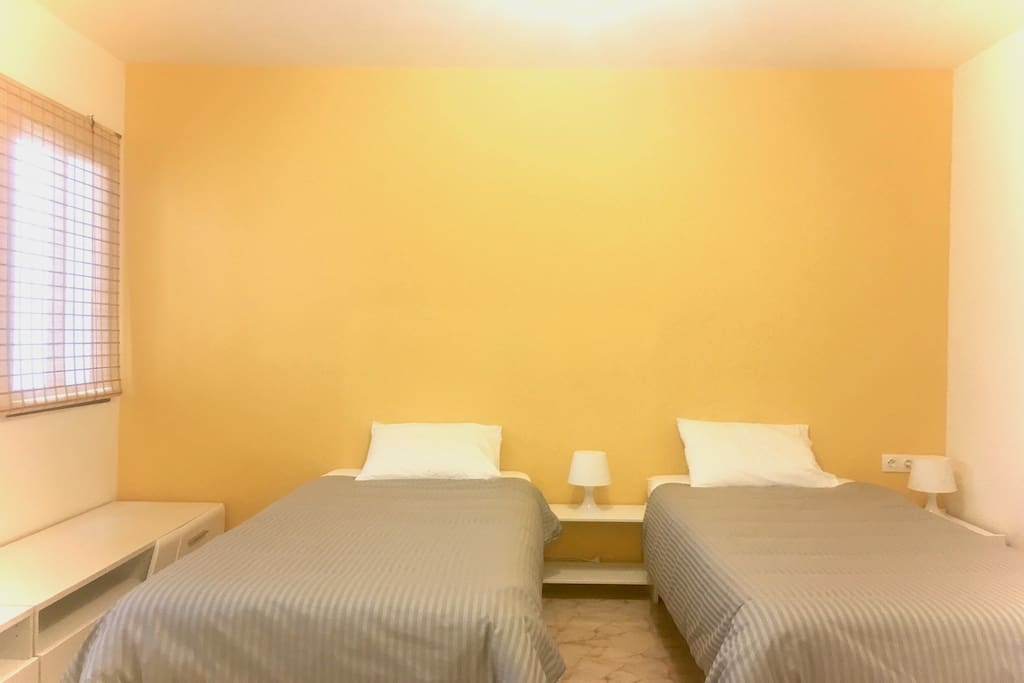 you can opt for 2 single beds, if you prefer