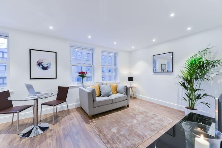 Stylish & Spacious Apartment Very Close To Camden