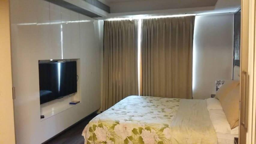中山市新城雅居乐温馨家庭套房 - Zhongshan - Apartemen