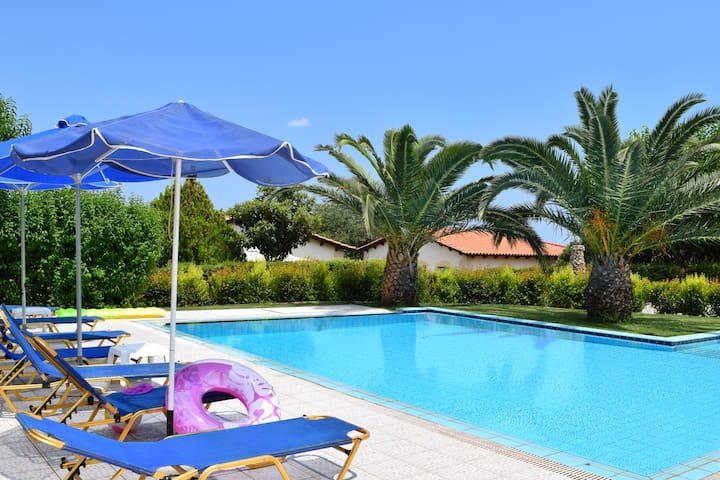 Villa Emmanouela, Superior villa with private pool - Φίλιππος - 別墅
