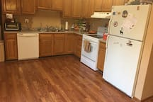 Kitchen (currently I have apartment overflow, but I am working hard to contain this.)