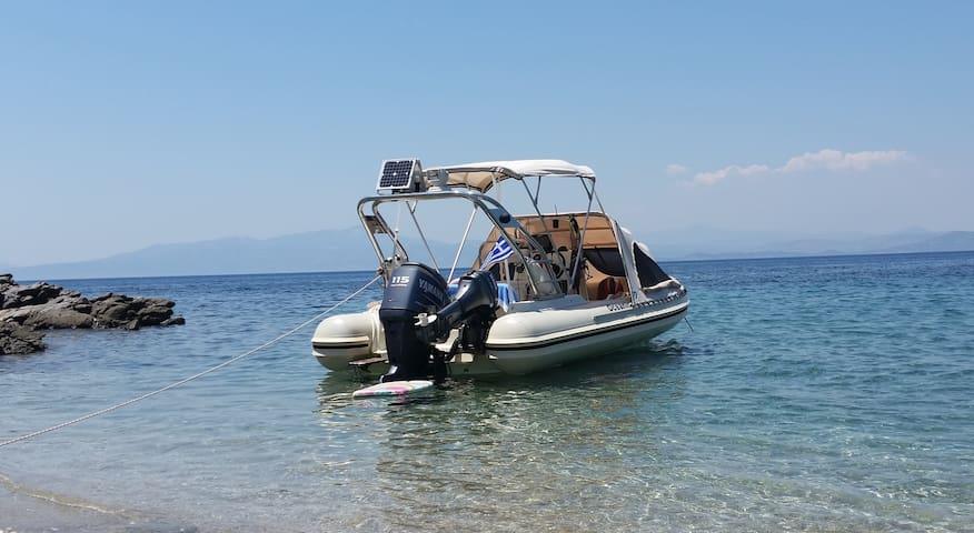 Rent a Rib boat in Greece. - Anatoliki Attiki - Bateau