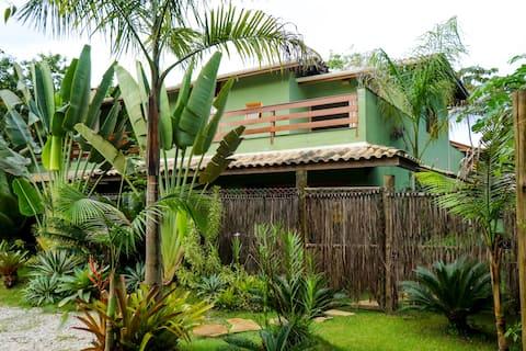Casa Viva Itamambuca a 100m do mar