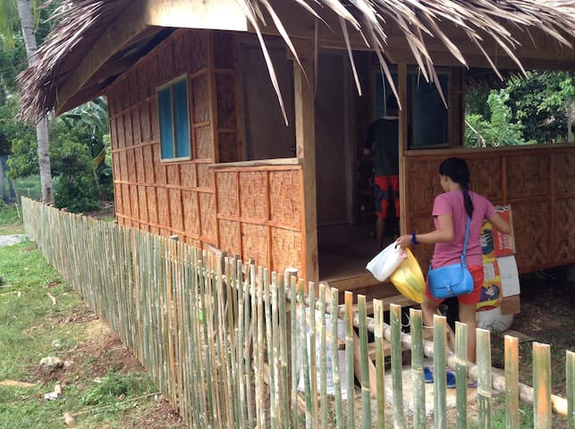Bamboo house for rent per month - Island Garden City of Samal - Dom