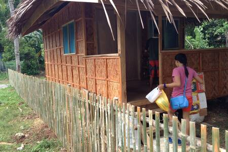Bamboo house for rent per month - Island Garden City of Samal - House