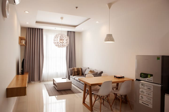 [TPR3] Modern and cozy apt in new building - Ho-Chi-Minh-Stadt