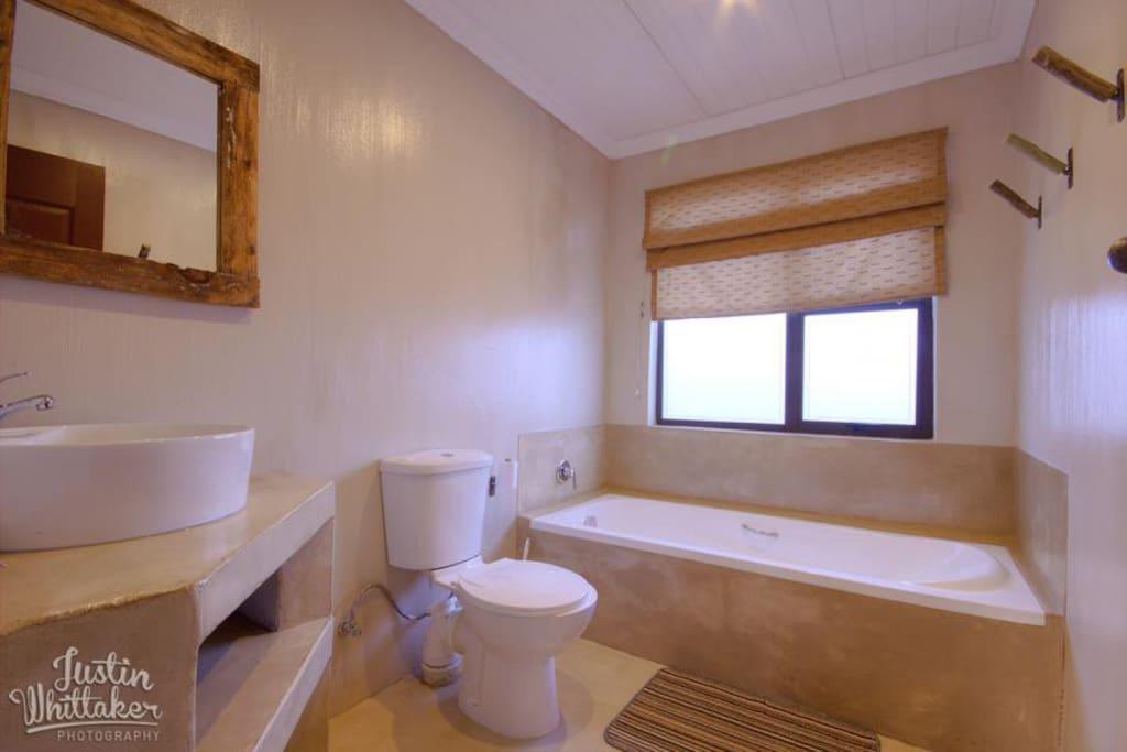 Main bathroom...