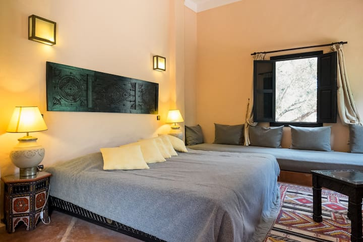 Chambre double supérieure - Ouirgane - Bed & Breakfast