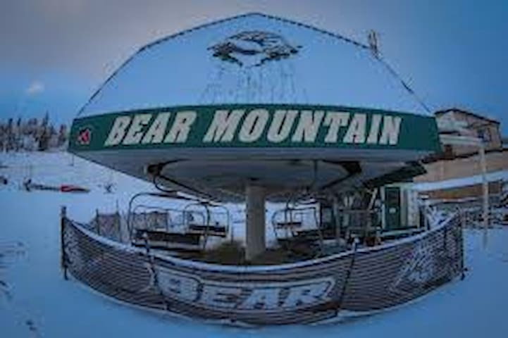 Bear Mountain Ski Resort is located 4.1 miles from cabin.