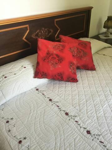 King Size Bedrooms in an Italian Villa in Friuli