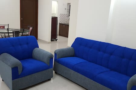 2 Bedroom AC Apartment in central location