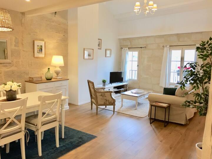 Appartement de charme avec ravissante terrasse