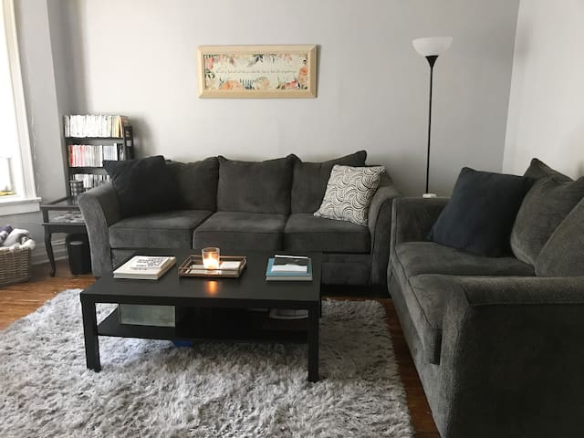 Shared area: living room