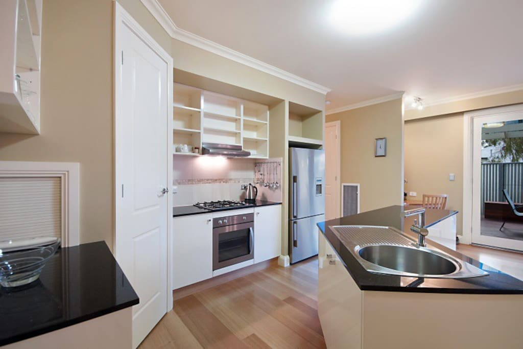 Fully self contained Granite Kitchen.