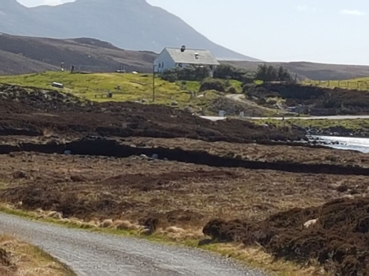 The Caigean, 12 Lochportain, Isle of North Uist