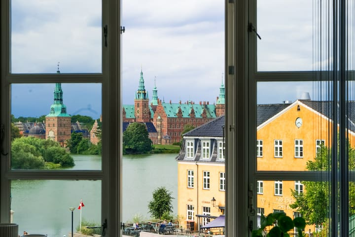Beautiful apartment in the middle of Hillerød city